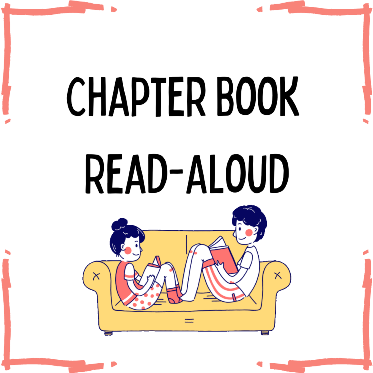 Chapter Book Read Alouds via ZOOM (Registration)