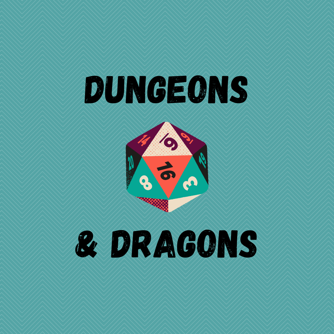 Dungeons & Dragons Club via ZOOM (CLOSED - Email for information)