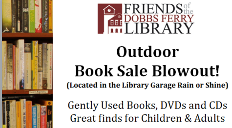 Friends of the Dobbs Ferry Library Outdoor Book Sale Blowout!