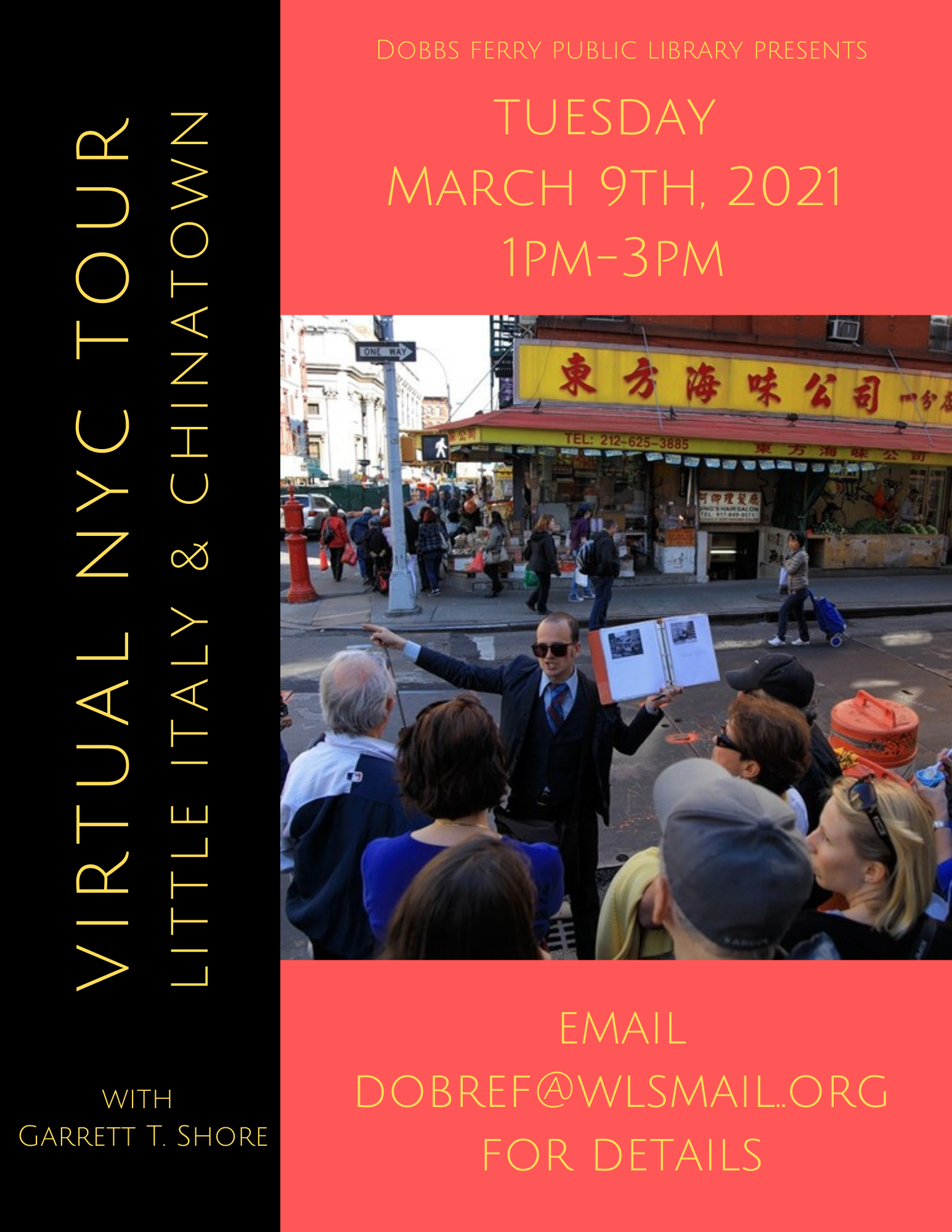 Virtual NYC Tour: Little Italy & Chinatown