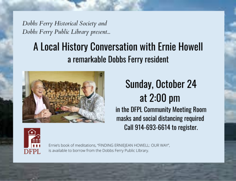 Local History Conversation with Ernie Howell