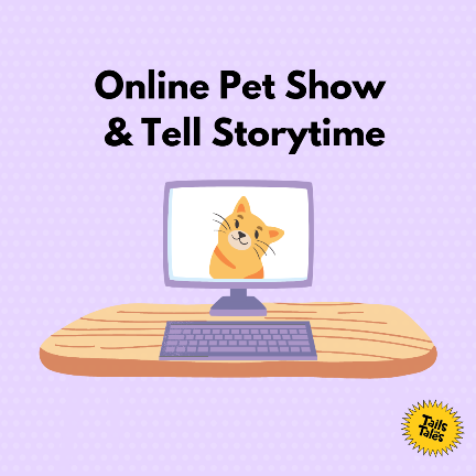 Online Pet Show-and-Tell Storytime via ZOOM (Registration)
