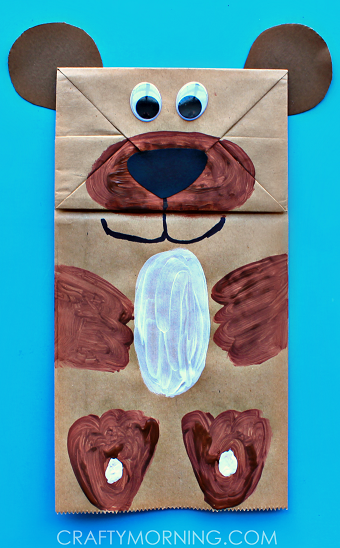 Take & Make Craft Kits for Kids: Paper Bag Bears - Limited Supply / Contact the Library to schedule a pick up