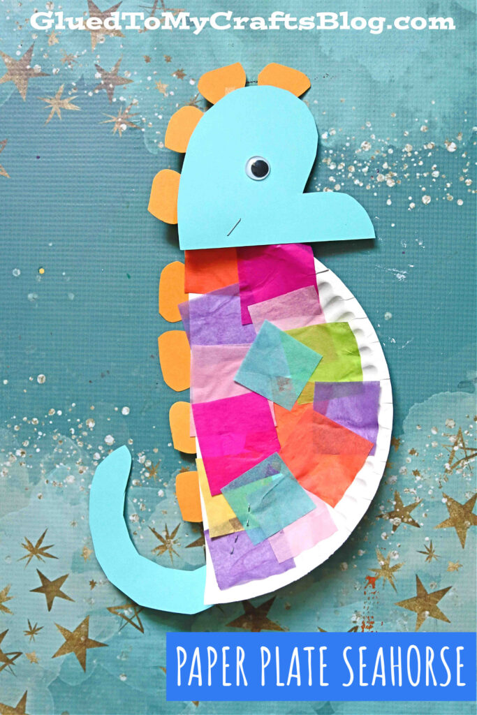 Take & Make Craft Kits for Kids: Paper Plate Seahorses - Limited Supply / Contact the Library to schedule a pick up
