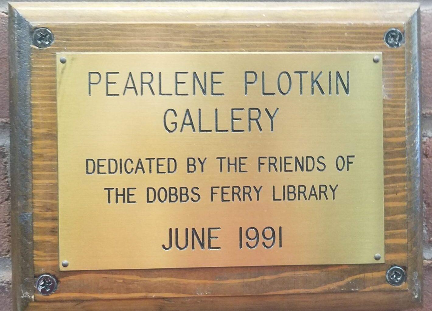 The Pearlene Plotkin Gallery