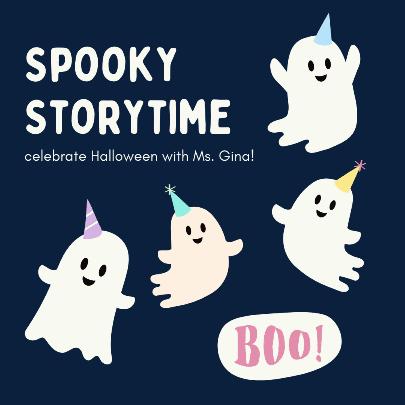 Outdoor Preschool Halloween Storytime
