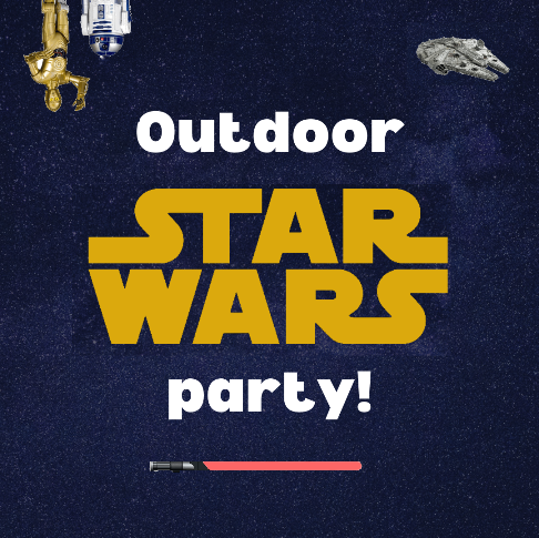 Star Wars Party in the Library plaza - all ages welcome!