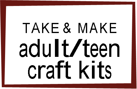 Take & Make Adult / Teen Craft Kit - Macrame Leaf Earrings (REGISTRATION REQUIRED)